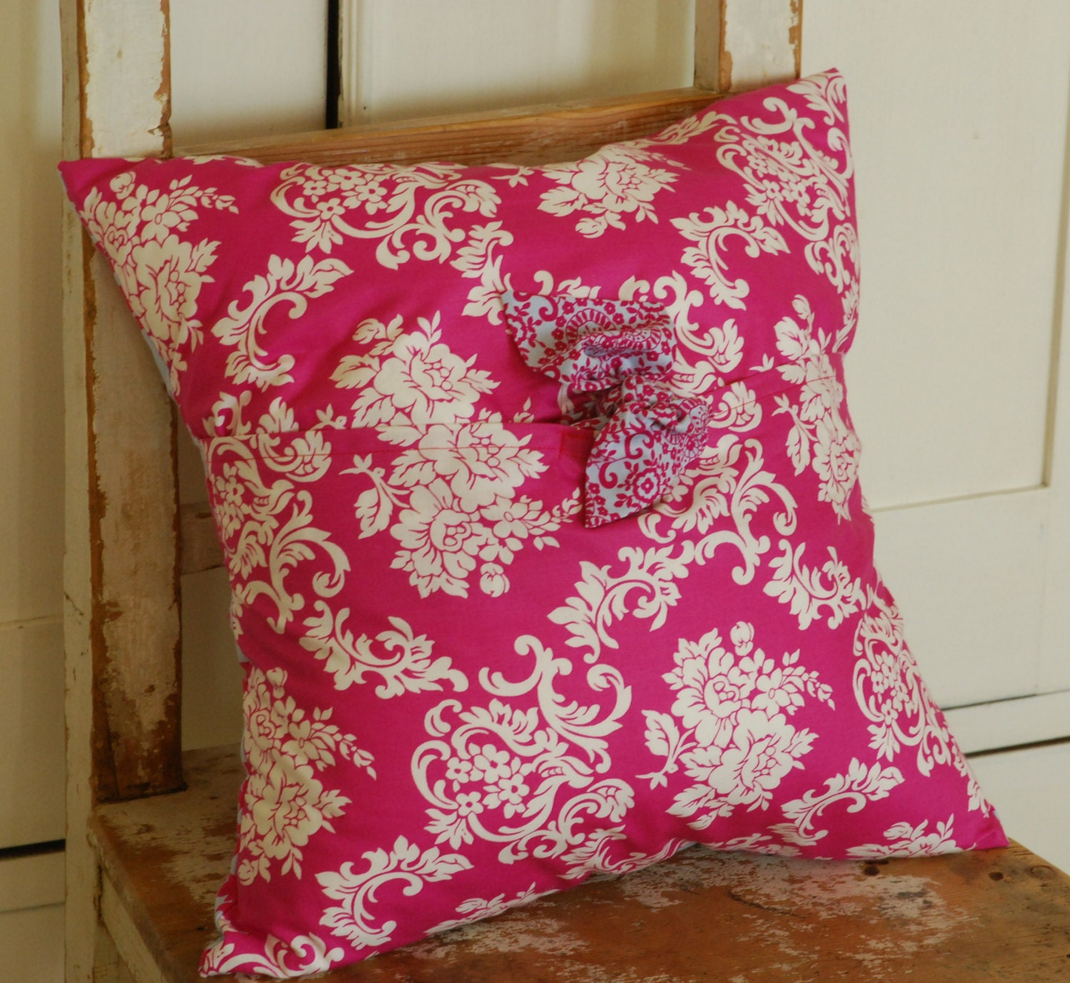 Etsy Shabby Chic Throw Pillows : Shabby Chic Pillow Cover Decorative Pillow by KenilworthPlace