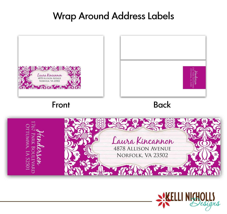 printable return address labels free – Return Address Templates Free