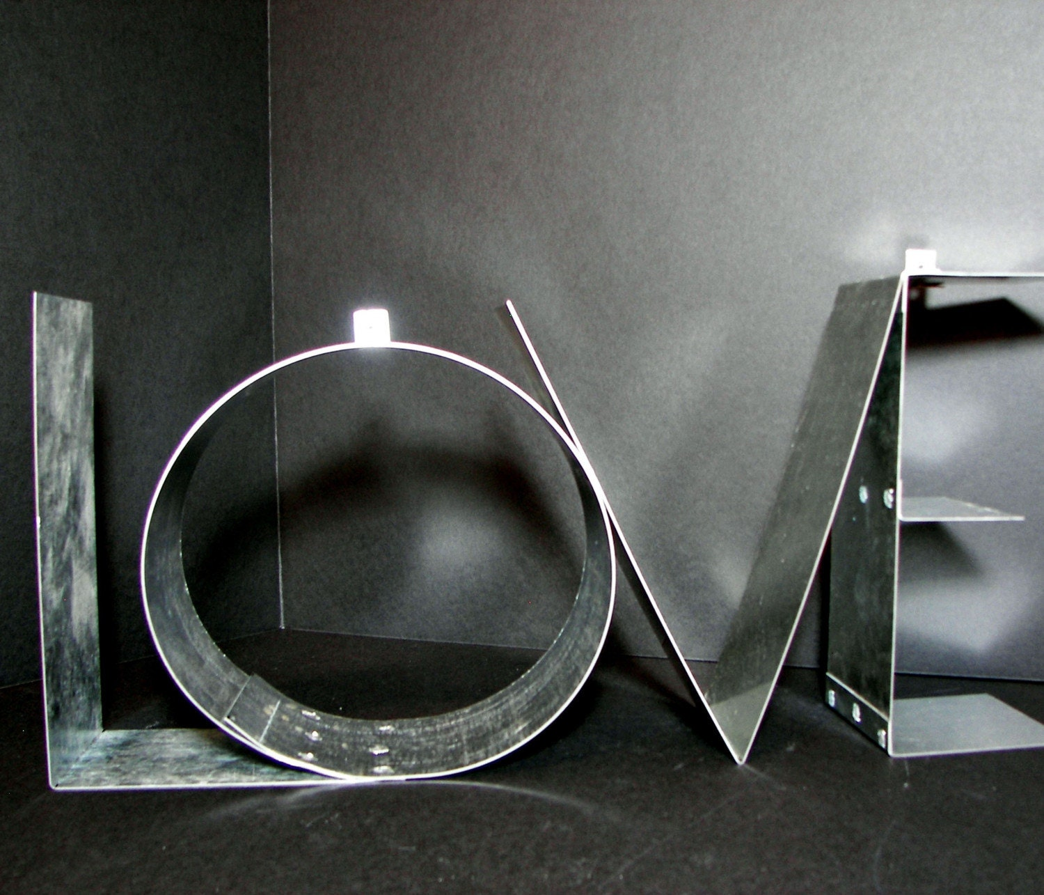 custom metal wall decor letter sign up to 8 by. Black Bedroom Furniture Sets. Home Design Ideas