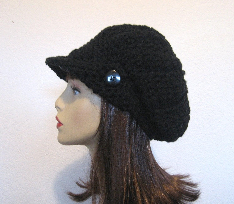 Crochet Newsboy Hat : Slouch Newsboy Hat Crochet Slouchy Newsboy by CreativeDesignsbyAmi
