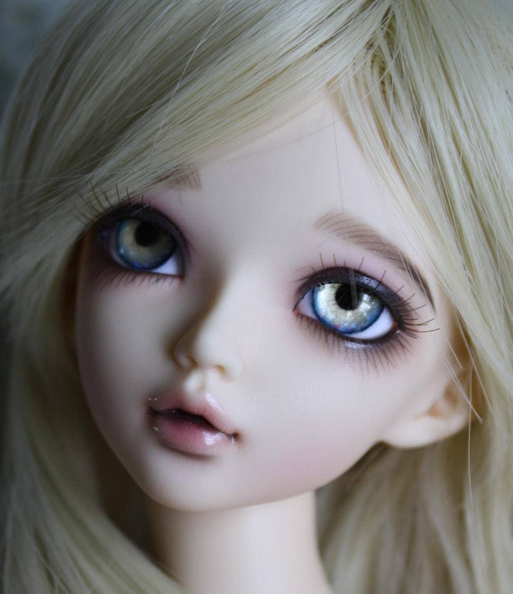 BJD eyes Doll eyes Hand made available in 12141618202224mm Blonde Bombshell made to order
