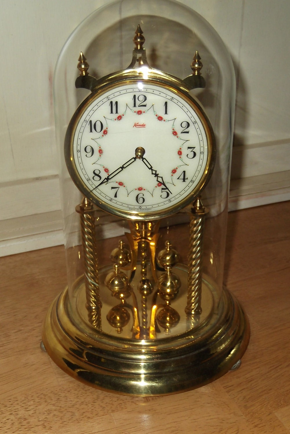 Kundo Wind Up 400 Day Anniversary Clock With By