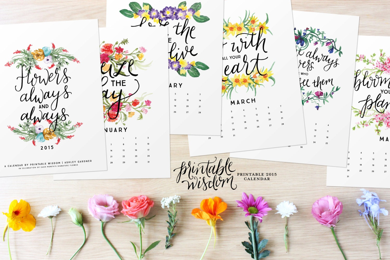 Как нарисовать календарь своими руками на 2016 год