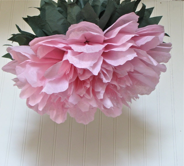 all the pretty peonies  7 giant paper flowers by whimsypie