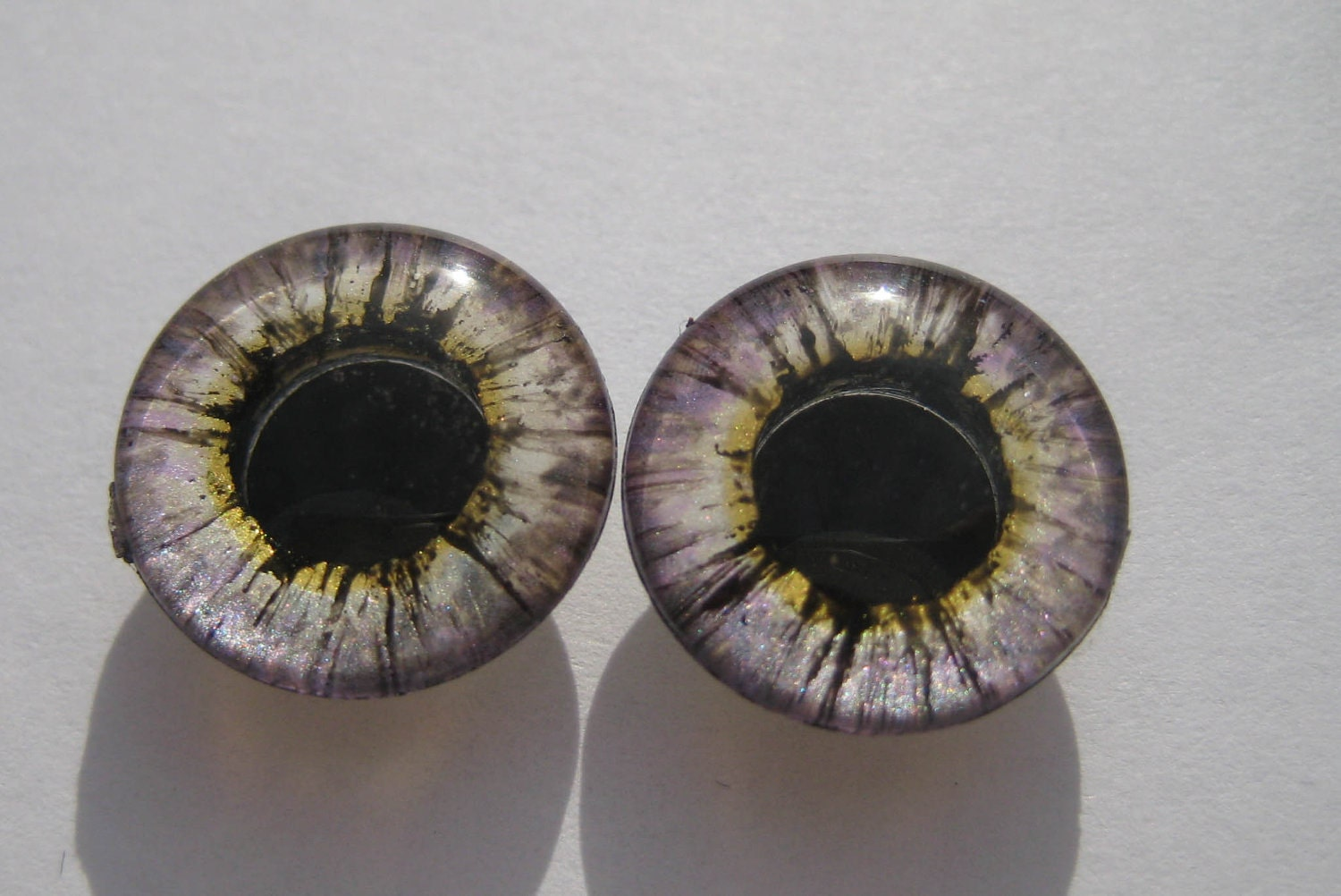 "Handpainted realistic eyechips for Blythe doll ""Fairy Dust"""