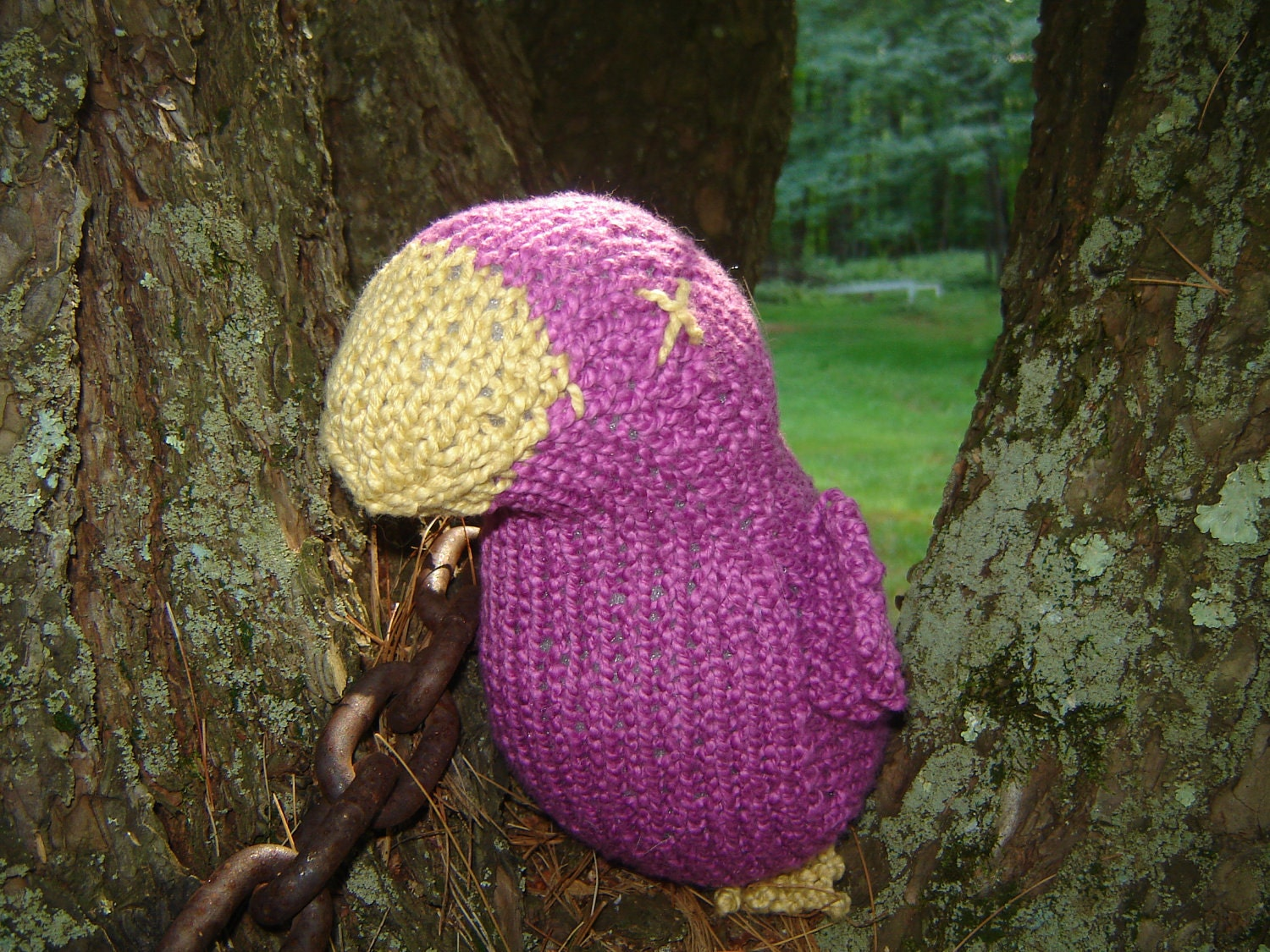 Blotto Birds - hand knitted by Baby Chix. - theKnitChix