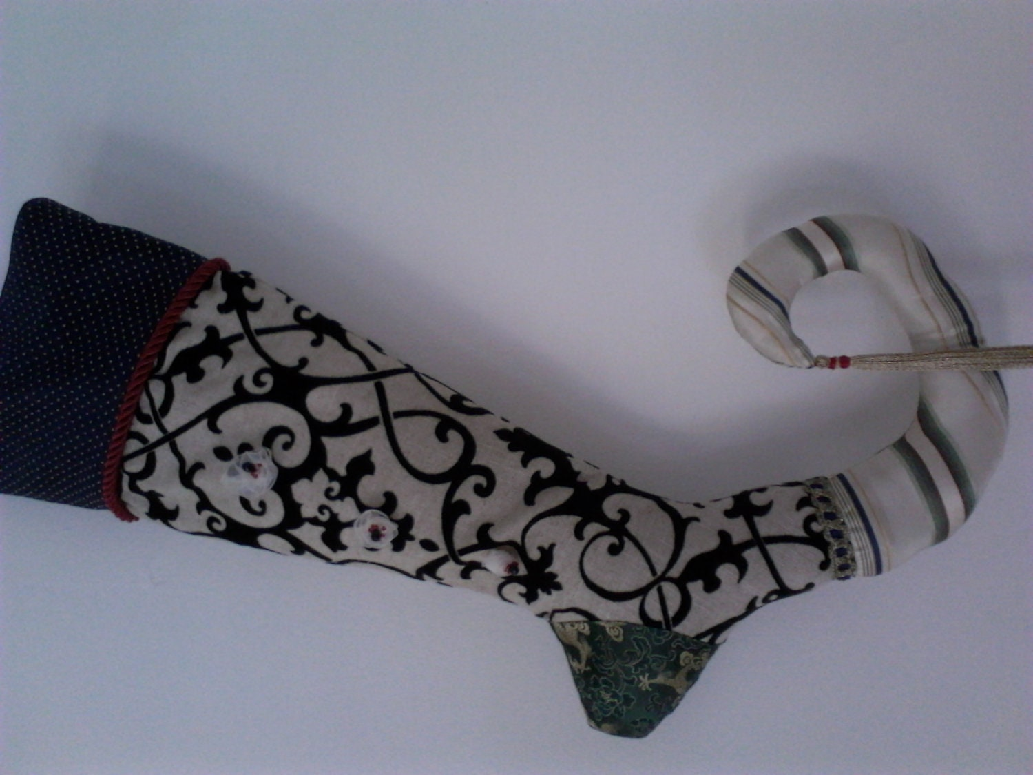 Alhambra Traveler Christmas Stocking