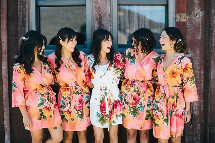 Bridesmaid Dressing Gowns Uk Cheap - Overlay Wedding Dresses