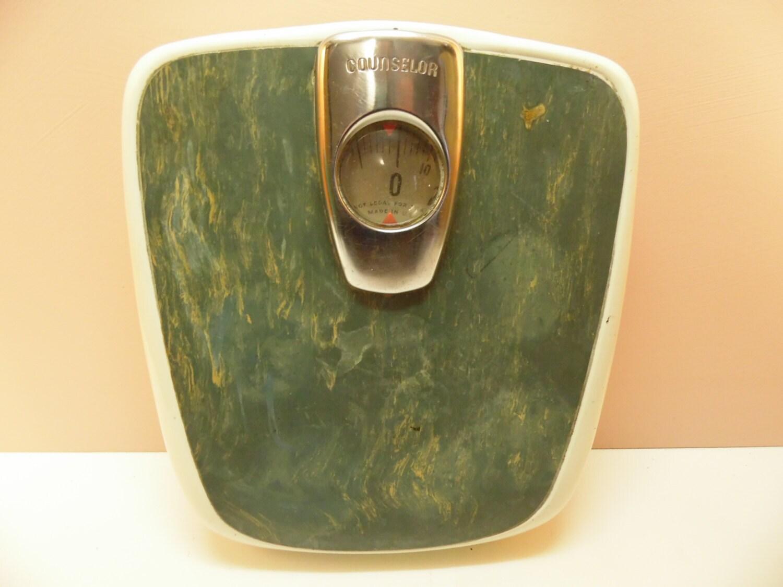 Borg bathroom scale