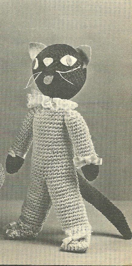 Crochet Pattern Cat | Free Patterns For Crochet