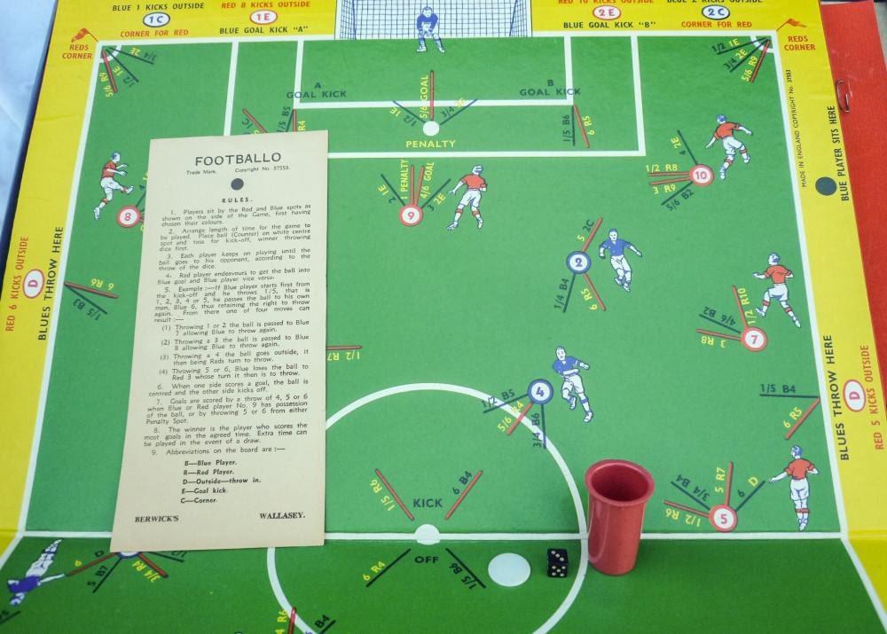 Vintage Football Board Games 37