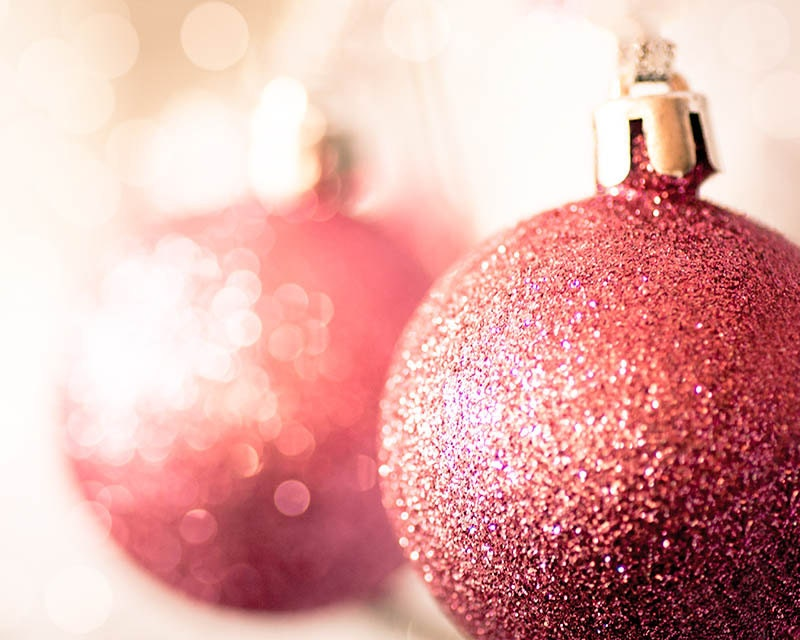 christmas photography festive christmas decor 8x10 fine art photography bokeh photography sparkle bauble gold red pink christmas wall art - mylittlepixels