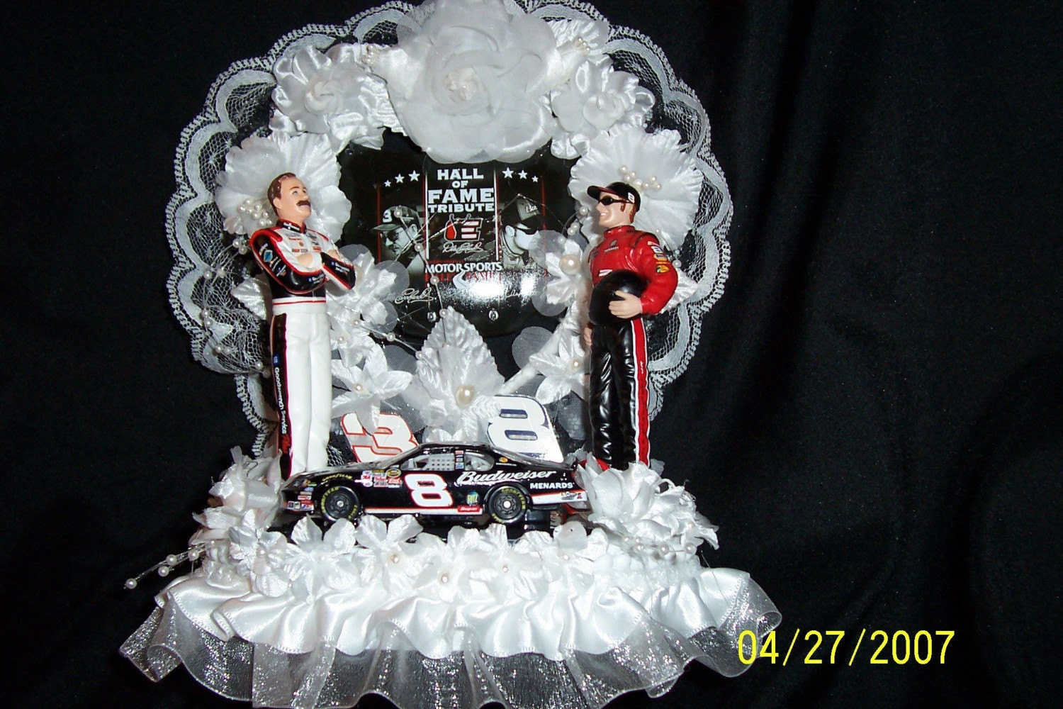 Dale Jr Wedding Cake Topper