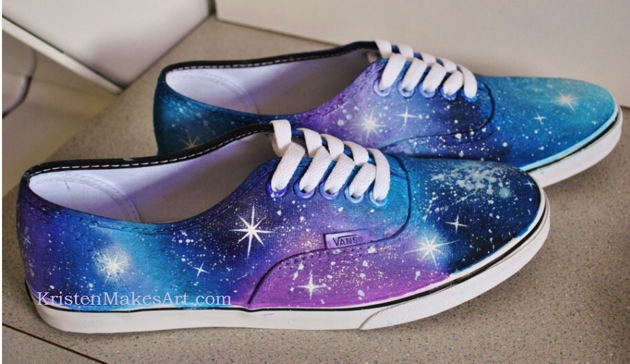 diy galaxy vans