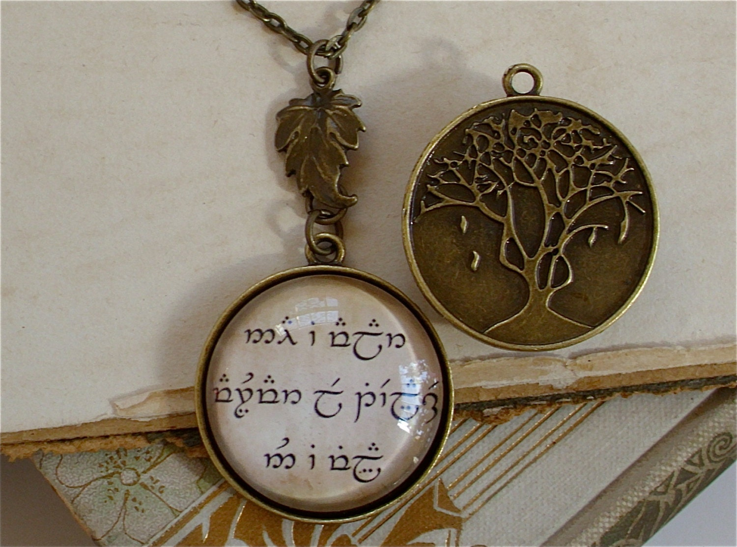 lord of the rings jewelry hobbit middle by