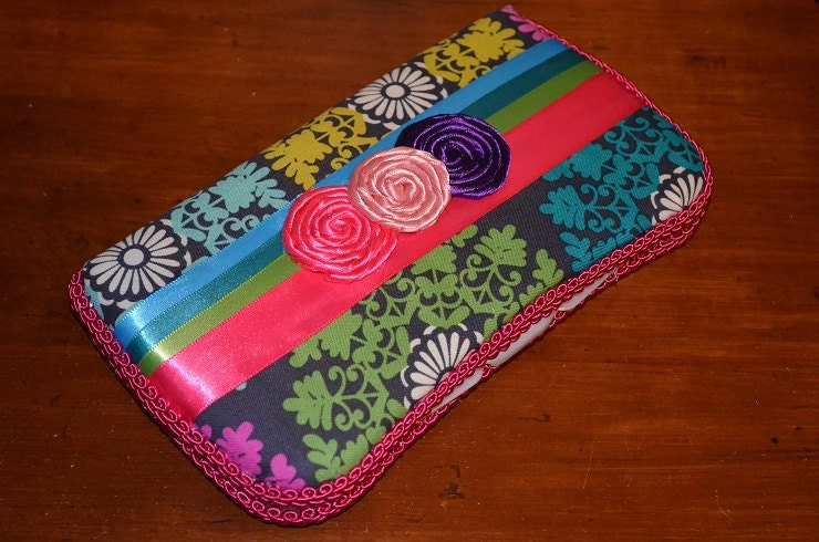 items similar to baby wipe case perfect for diaper bag or travel on etsy. Black Bedroom Furniture Sets. Home Design Ideas