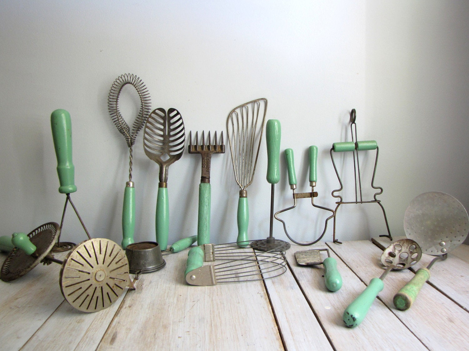 collection of assorted kitchen utensils - barleyandrye