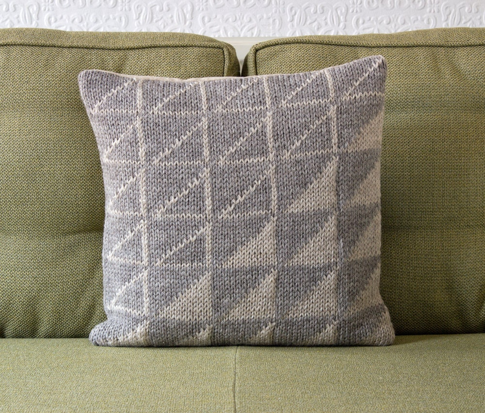 Geometric Cushion Knitting Pattern : Unavailable Listing on Etsy