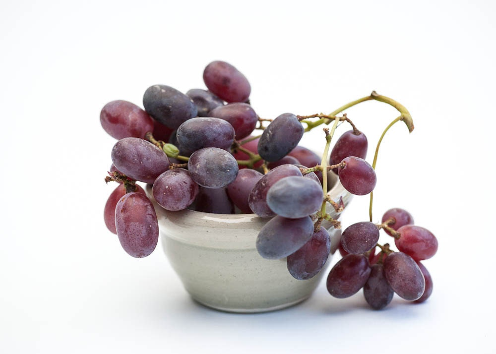 Grapes,  photograph, Vancouver, wine, dark red, cluster - emmarts