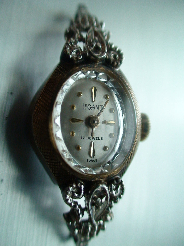 vintage windup le gant swiss 10k gold rgp by threediamonds10