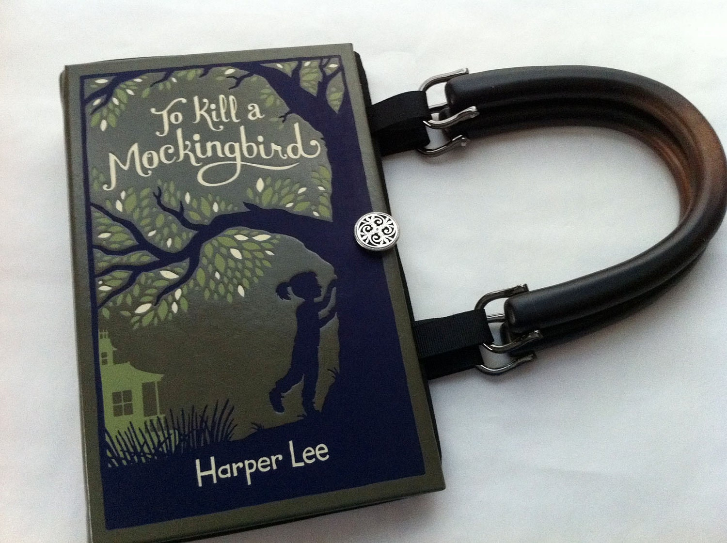 To Kill A Mockingbird Book Purse - CHOOSE YOUR HANDLE - Choose Your Lining