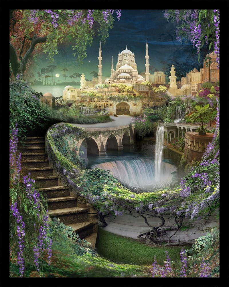 Lost Lands Of Imagination The Hanging Gardens Of By