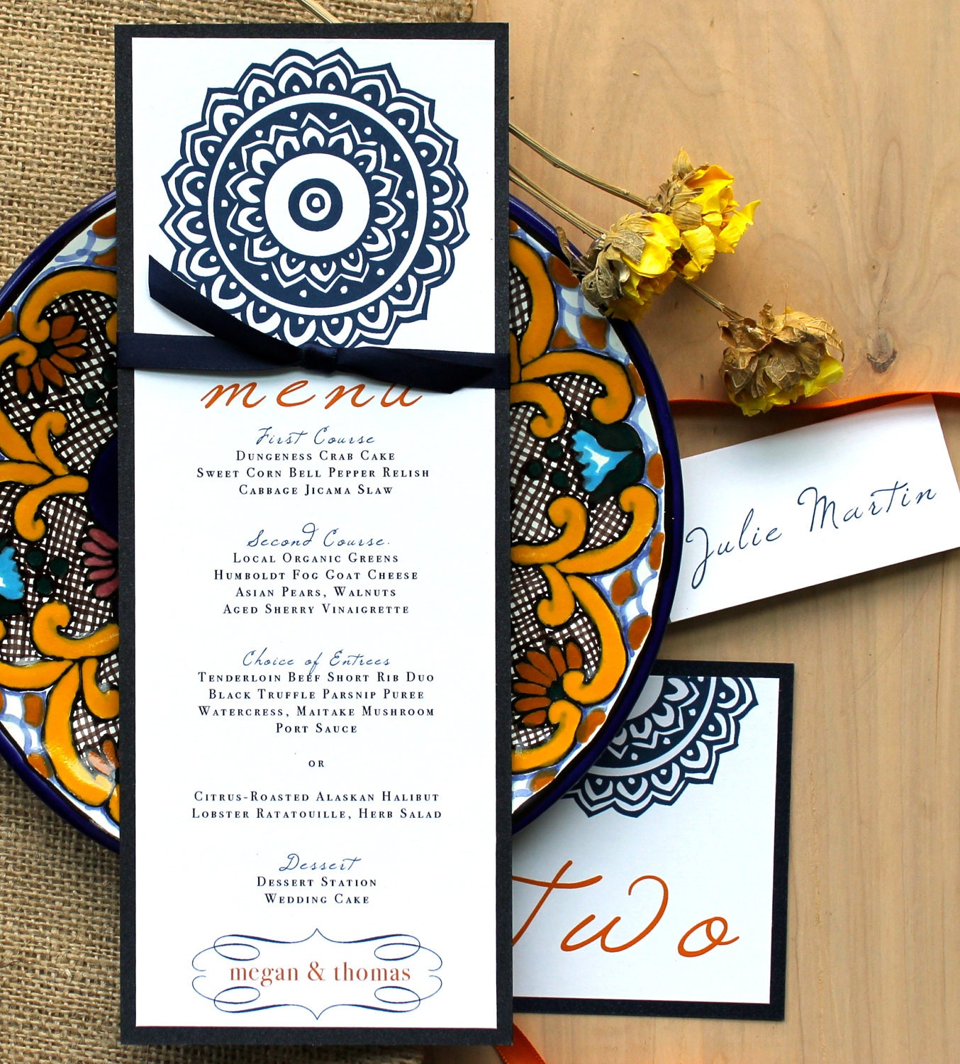 Tomarty Stationery  Wedding invitations and matching