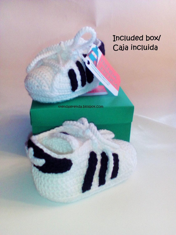 Cheap Adidas Superstar Pattern Crochet Baby In 3 By Trendalerendatl