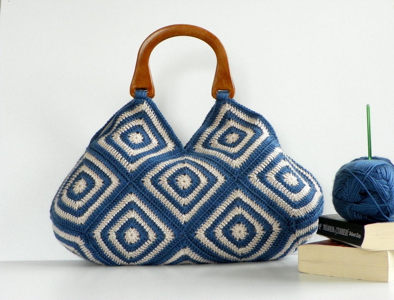 NzLbags Новый - Летняя сумка сумка афганской вязание крючком, сумки - Сумка Nr-0179