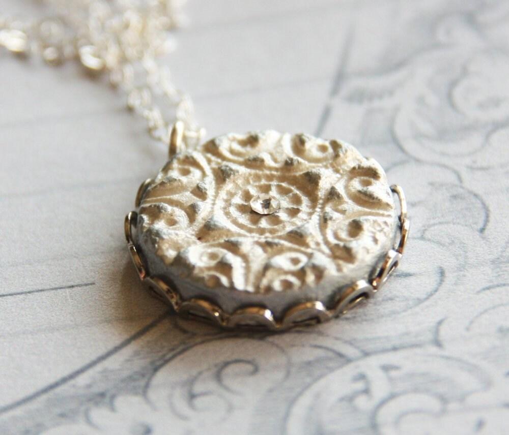 Hadas Necklace - The Sterling Silver Version - rafya