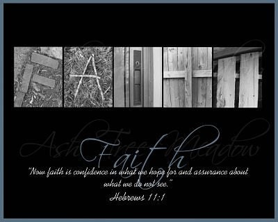Faith Print