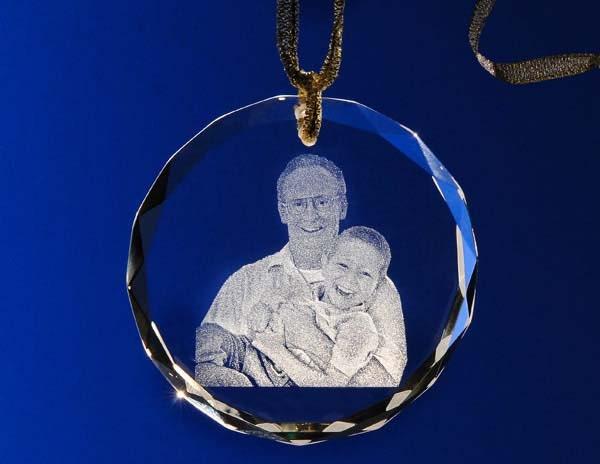 Engraved Christmas Tree Ornaments