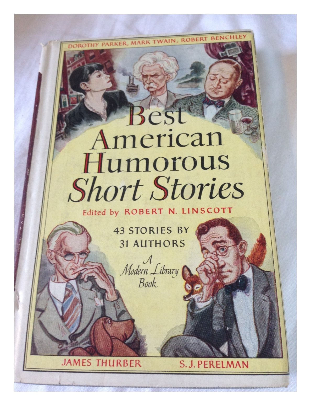 Best American Humorous Short Stories The Modern Library Edition 1945 W Dust Cover