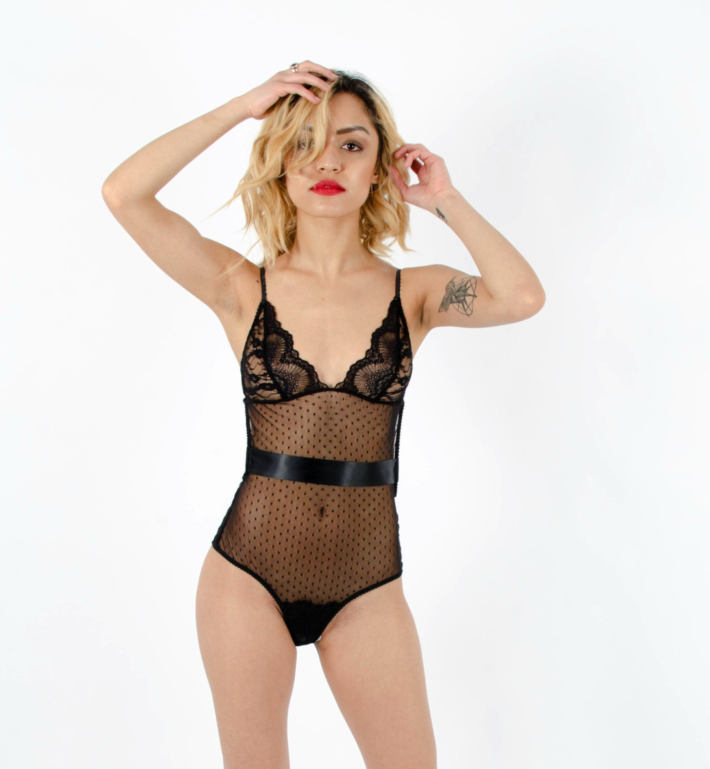 Lingerie see sexy thru