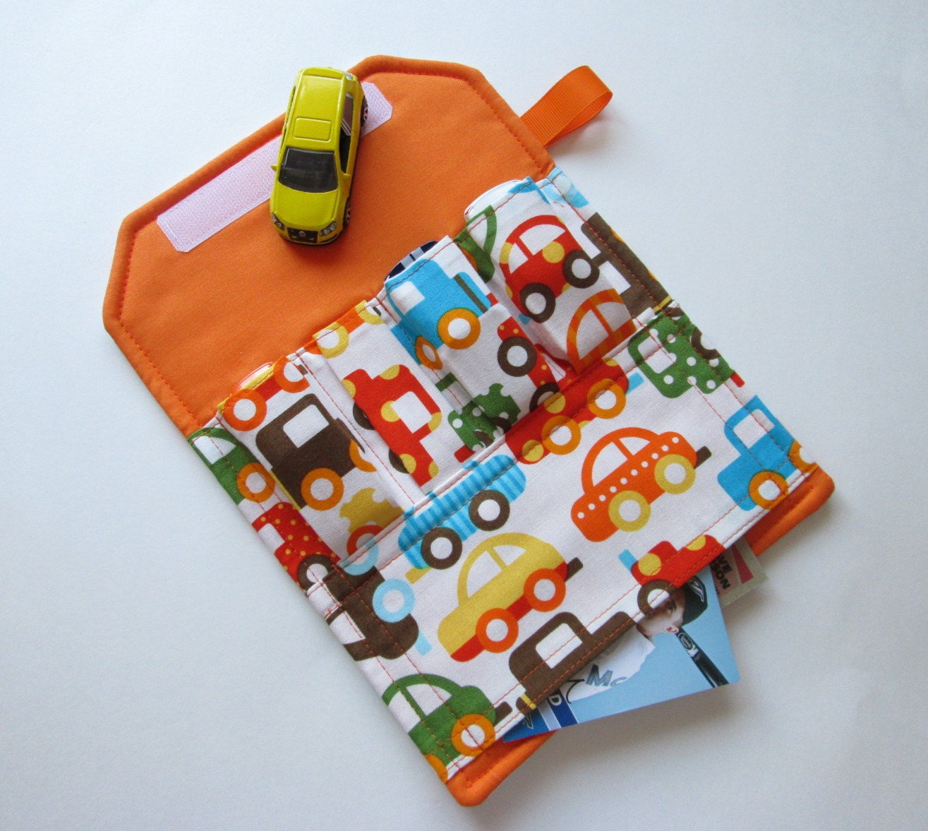 Toy Car Holder Tutorial : Childs toy car holder the original wallet by