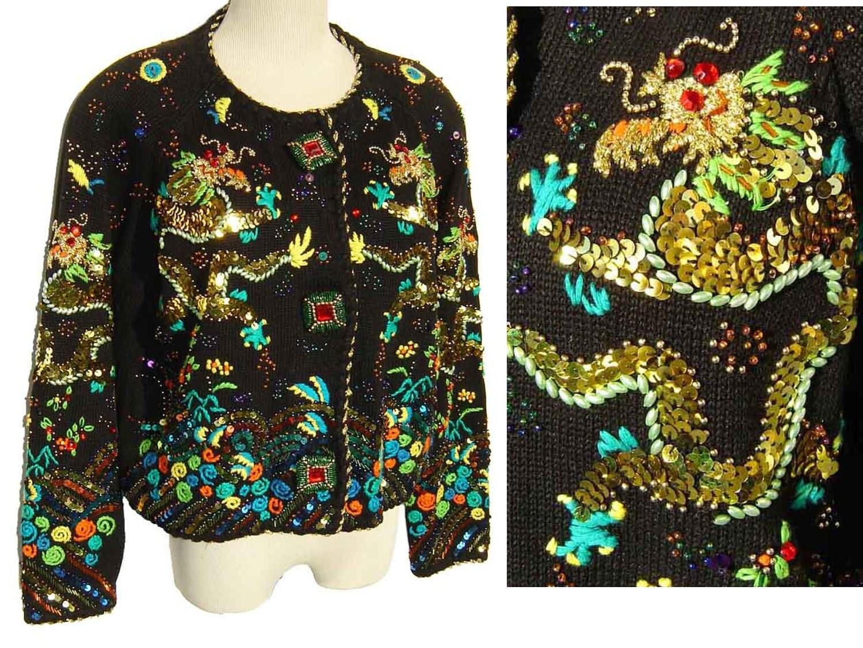Simon S Cat Sweater