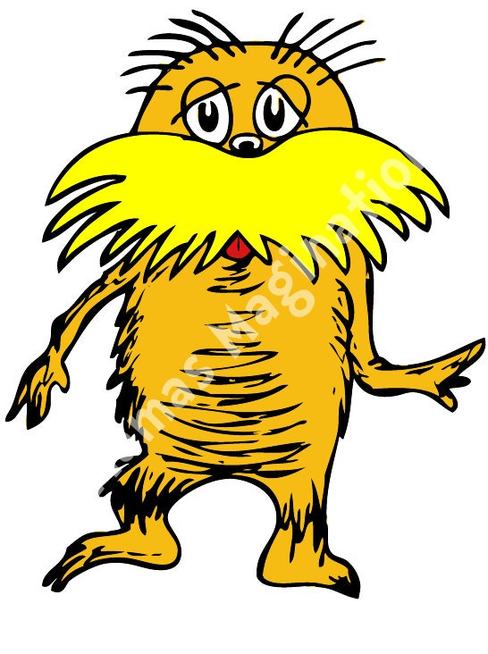 Gallery For gt Lorax Clipart
