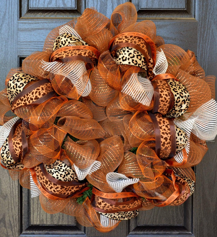 Fall Deco Mesh Wreath Ideas