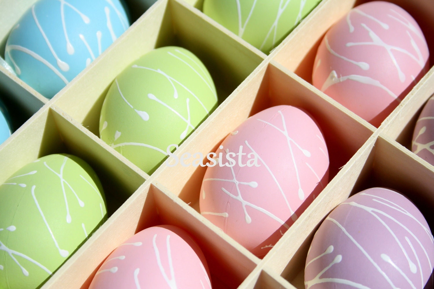 A Box Full of Easter Eggs: Easter Card - seasistaphotography
