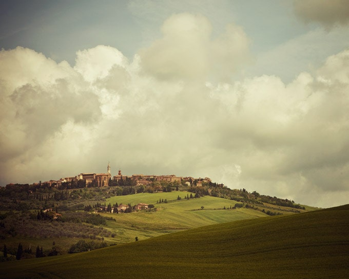 Incantato - Tuscany Photograph, Italy, Landscape Photography, Rustic Fairytale, Romantic Travel Photo - EyePoetryPhotography