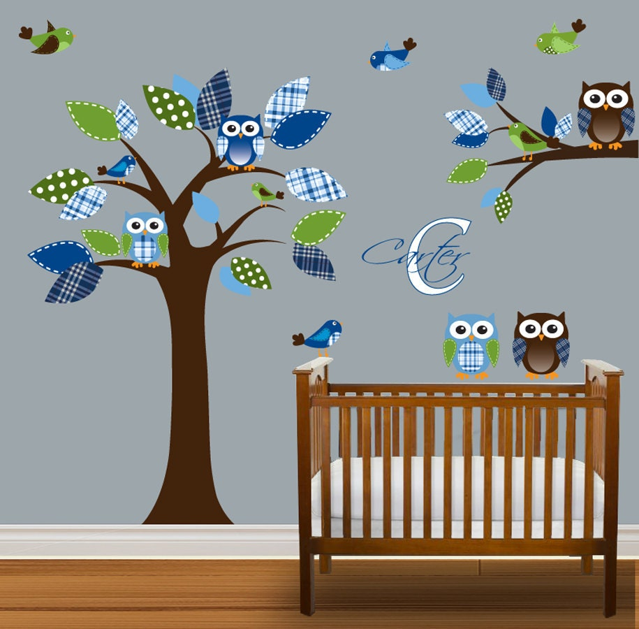 etsy your place to buy and sell all things handmade baby nursery cute baby boy wall decals for nursery baby