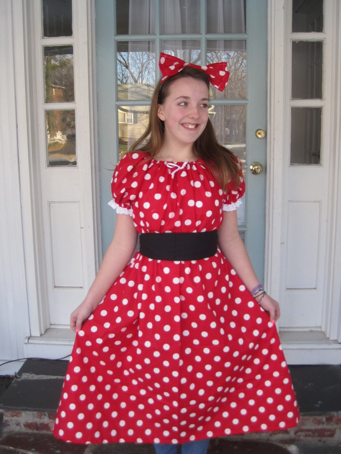 Womens Minnie Mouse Costume