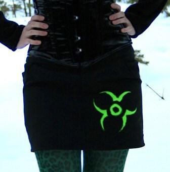 MASQ Biohazard skirt XS S - masque242