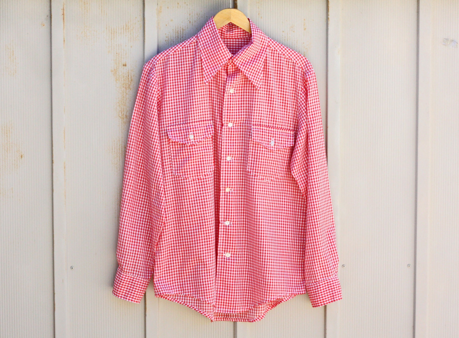 men gingham shirt  Nordstrom