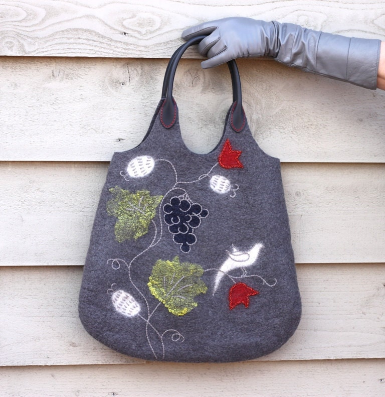Spring felted bag - aureliaLT