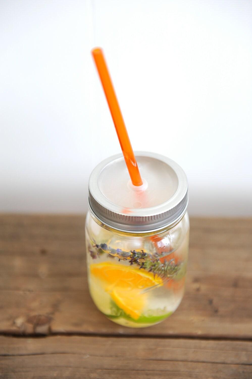 16 oz. Mason Jar Tumbler - Travel Jar - Smoothie Tumbler - Eco Gift - TheMasonBarCompany