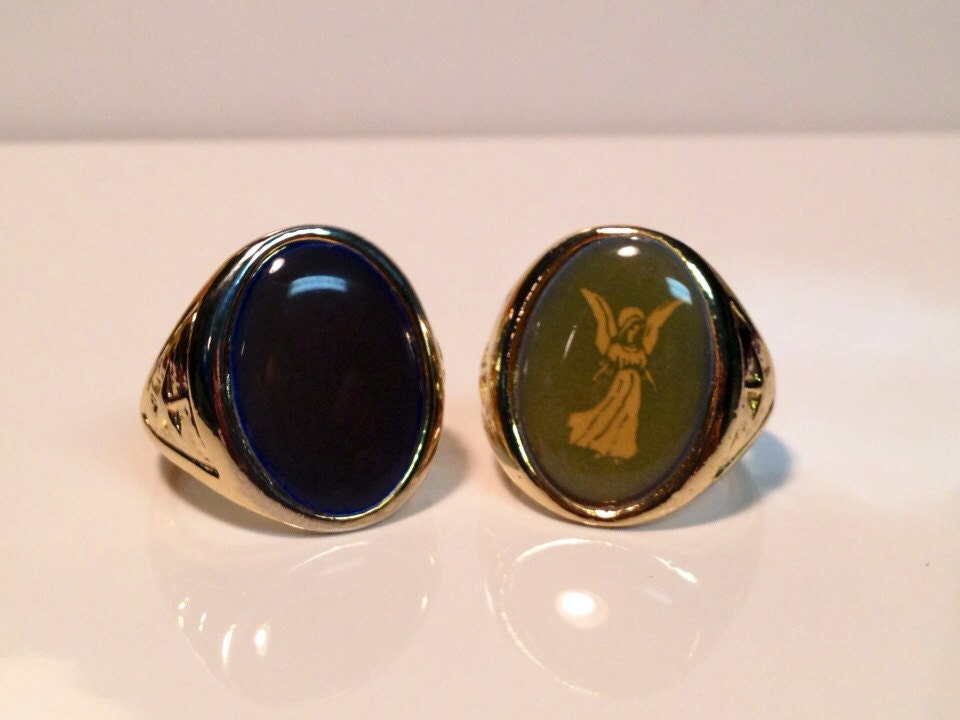 vintage friendship mood ring size 5 5 by