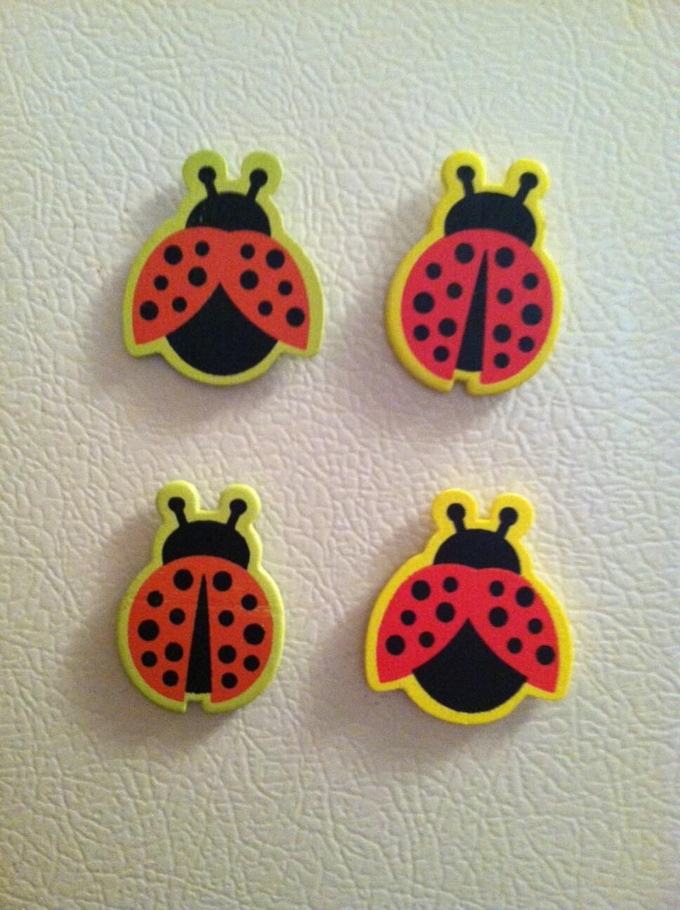 Lovely Ladybug Magnets