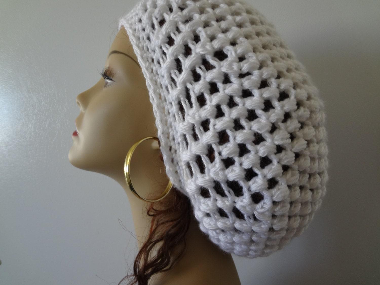 Crochet Pattern Rasta Hat : Rasta Hat Reggae Crocheted Slouchy Dread by ...