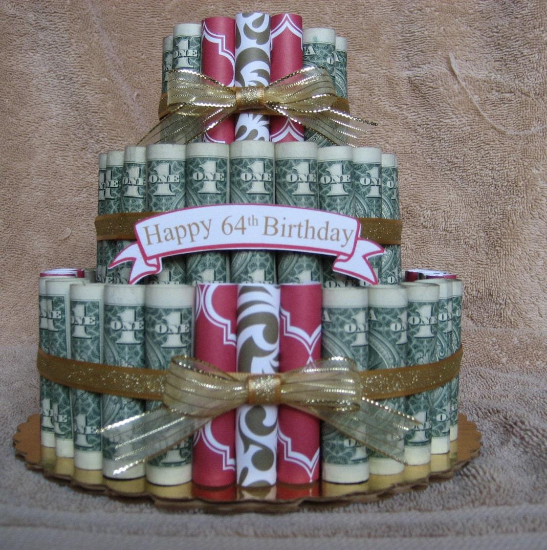Оригинальные поздравления на свадьбу с вручением денежного торта 73